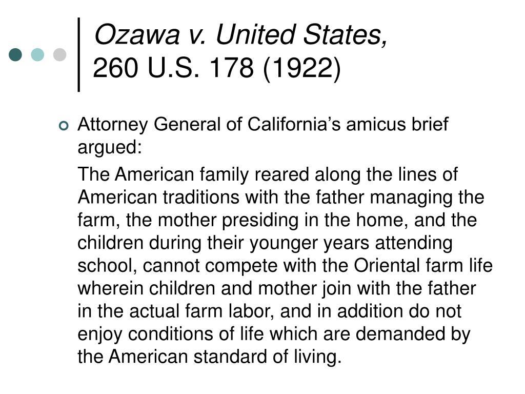 Ozawa v. United States,
