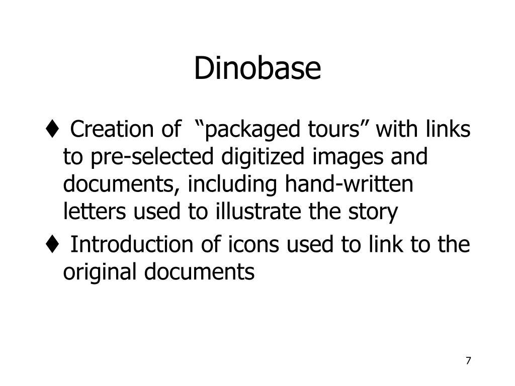 Dinobase