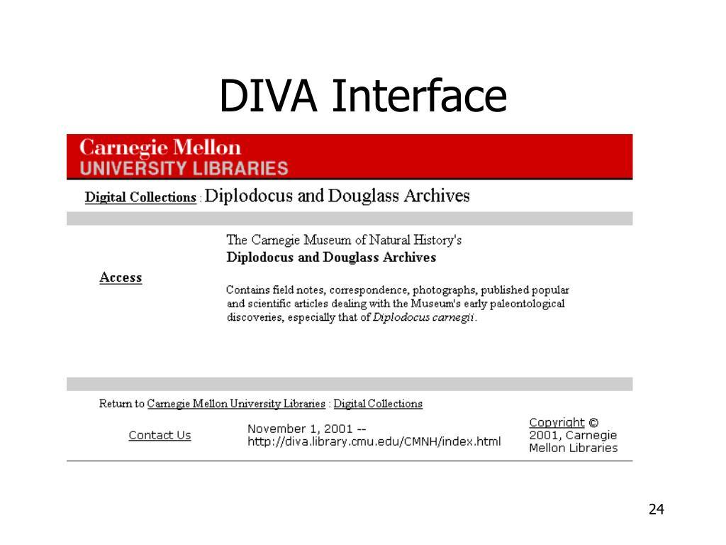 DIVA Interface