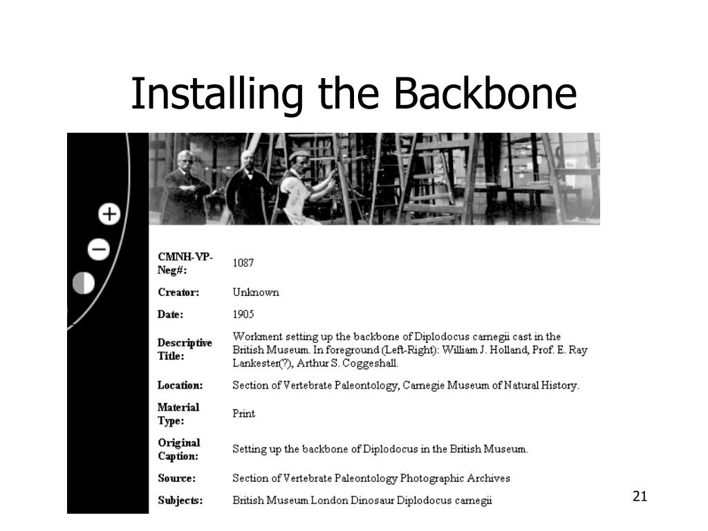 Installing the Backbone