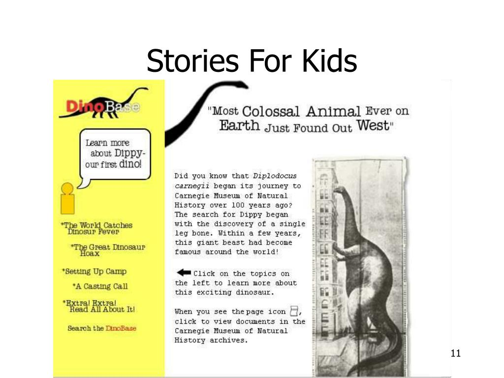 Stories For Kids