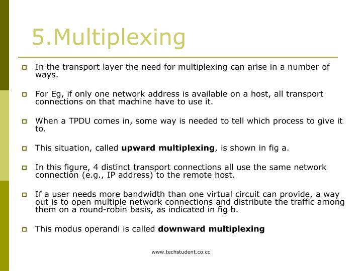 5.Multiplexing