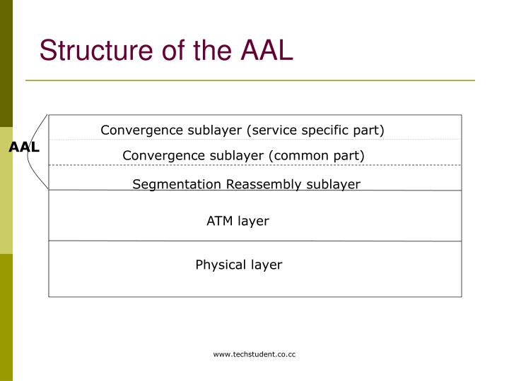 Structure of the AAL