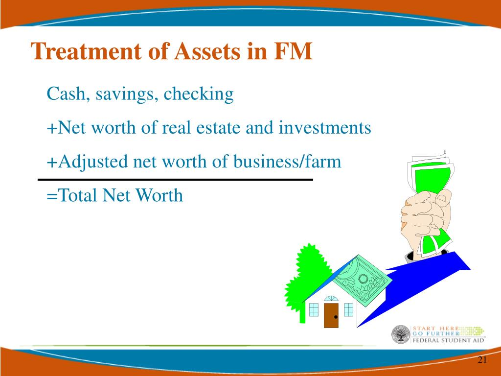 Treatment of Assets in FM