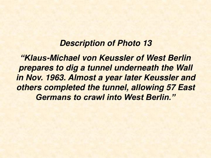 Description of Photo 13