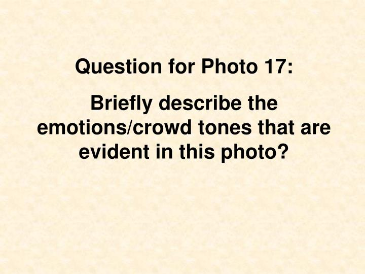 Question for Photo 17: