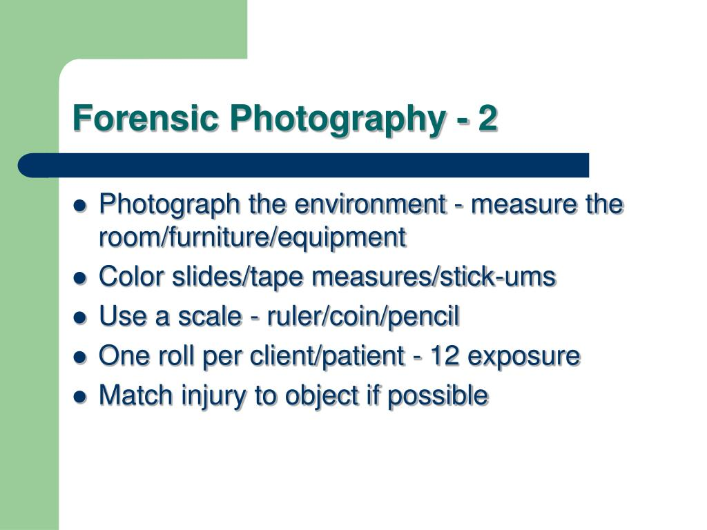 Forensic Photography - 2
