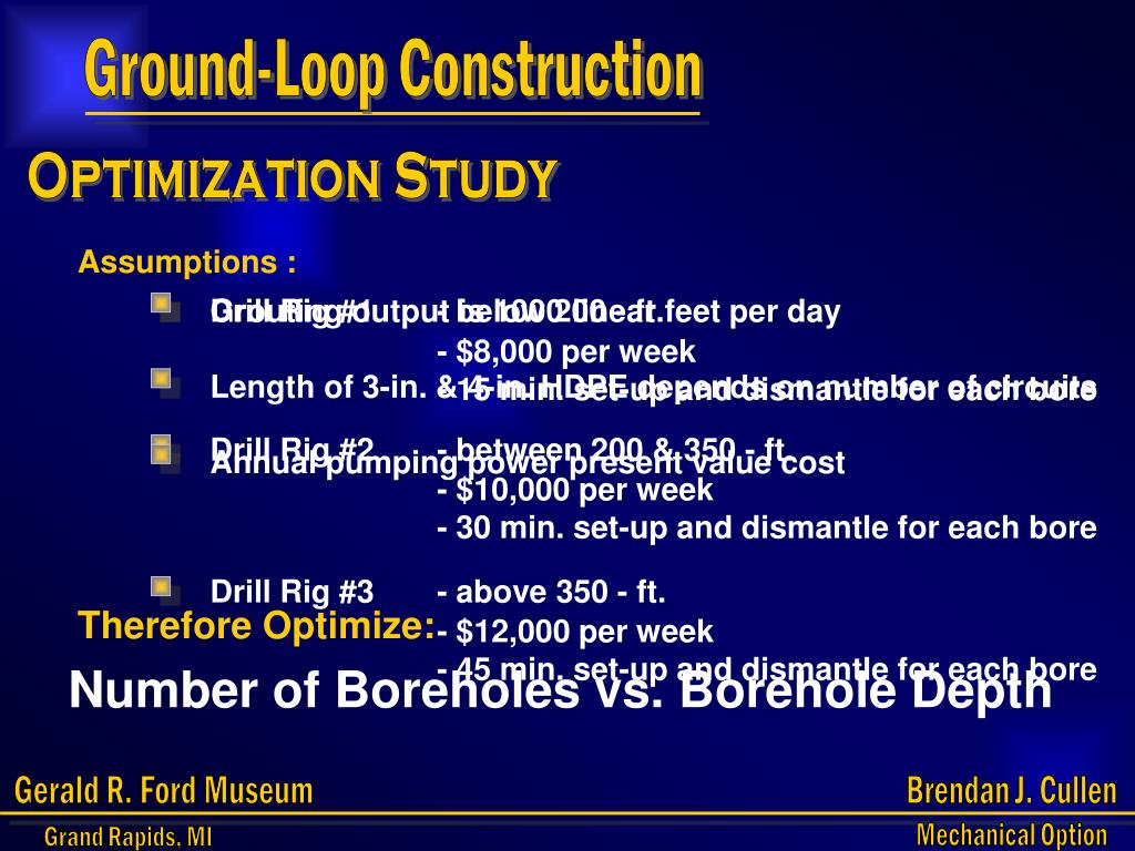 Ground-Loop Construction