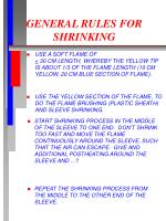 general rules for shrinking