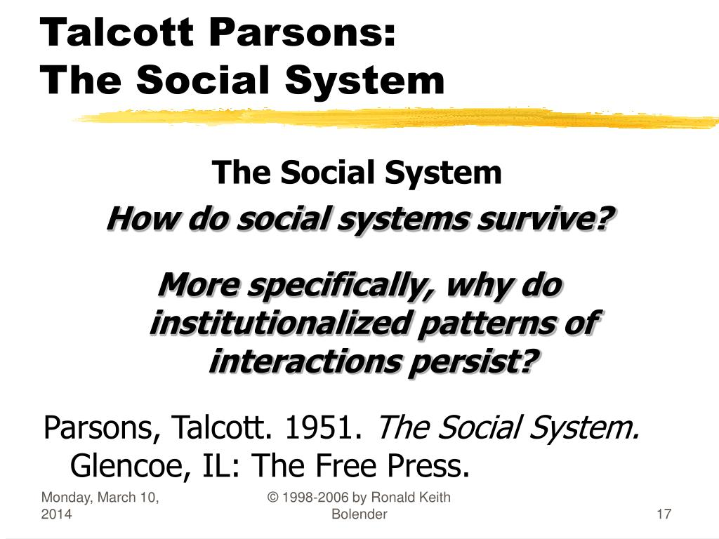 parsons t. essays in sociological theory Princeton university sociology 599:  the social theories of t parsons p hamilton, t parsons  an essay on the social and moral thought of max weber .