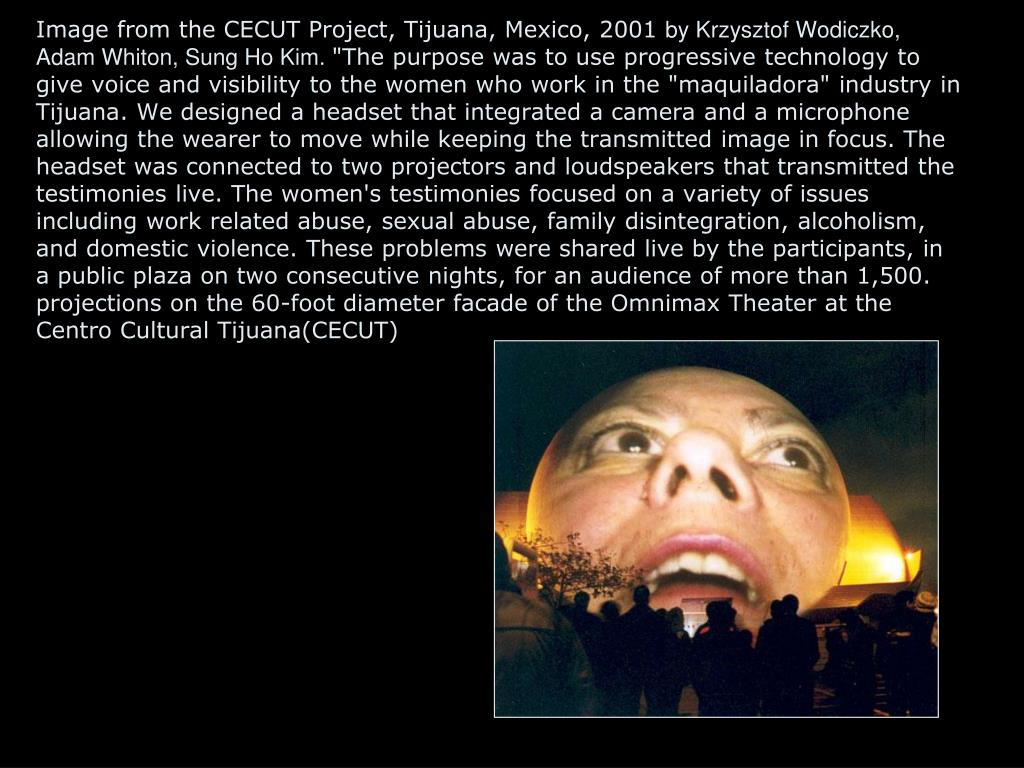 Image from the CECUT Project, Tijuana, Mexico, 2001