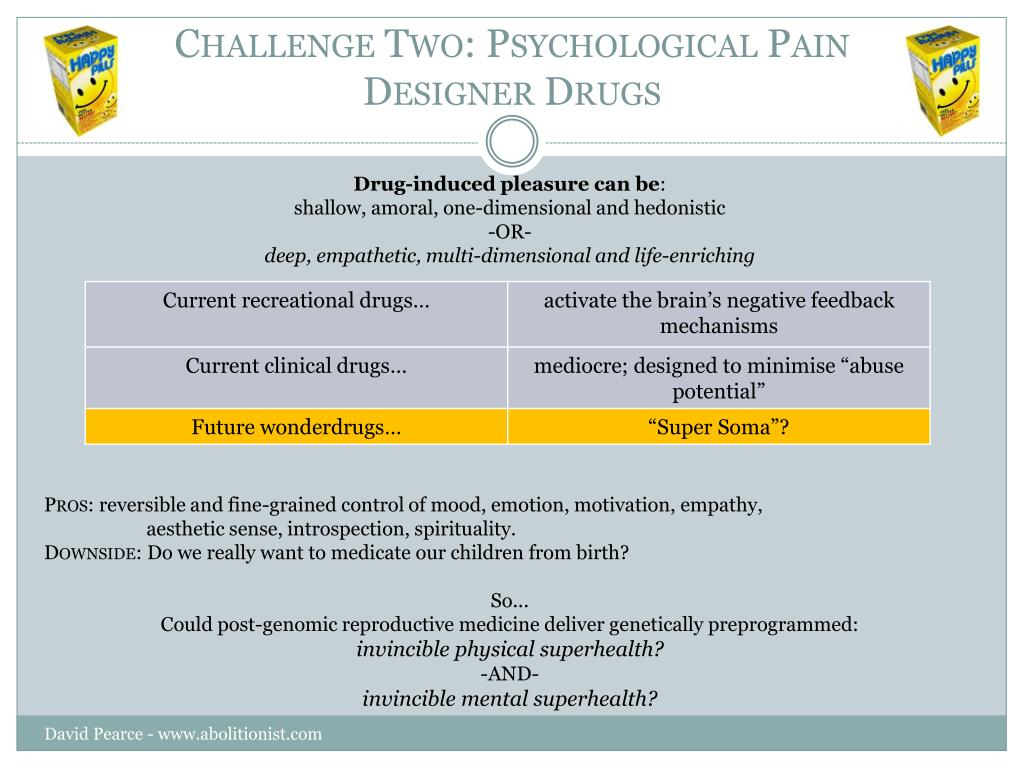 Challenge Two: Psychological Pain