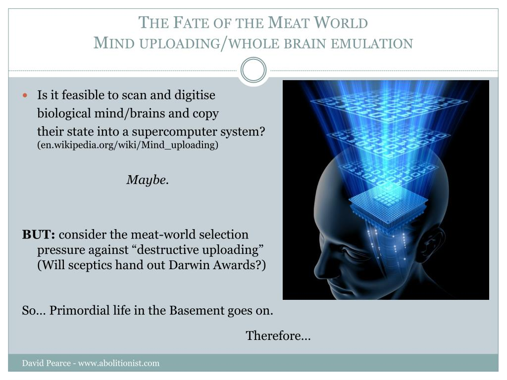 The Fate of the Meat World