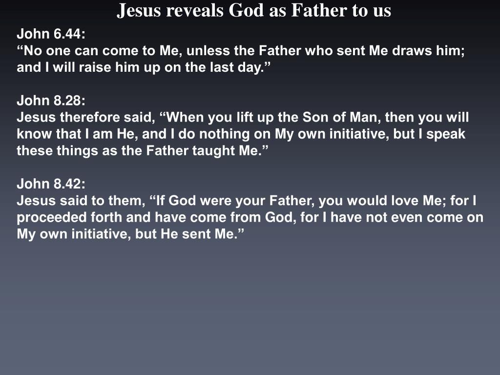 John 6.44: