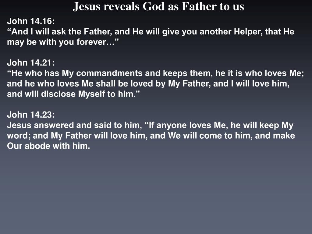 John 14.16:
