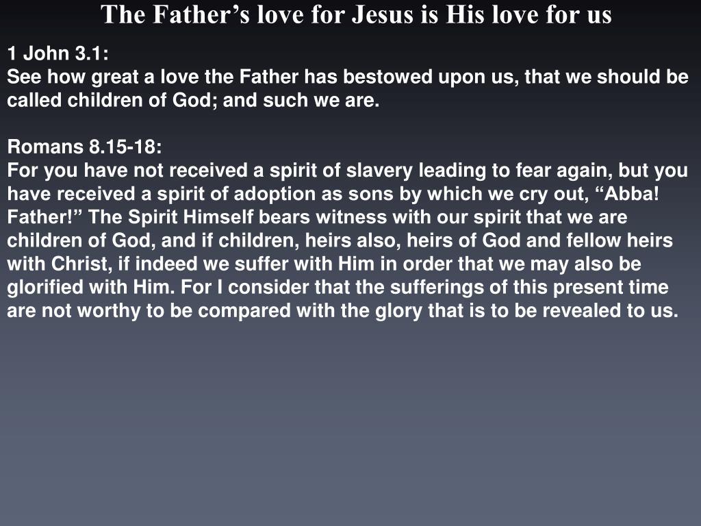 1 John 3.1: