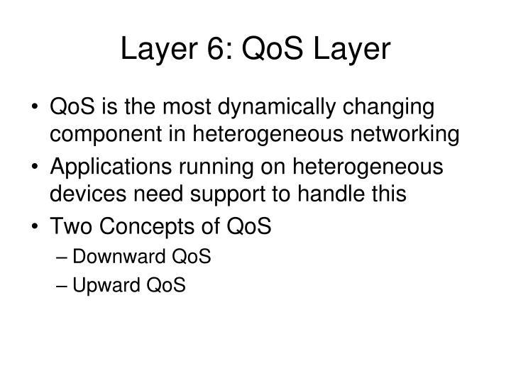 Layer 6: QoS Layer