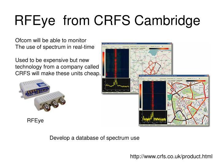 RFEye  from CRFS Cambridge