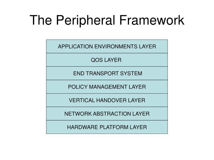 The Peripheral Framework