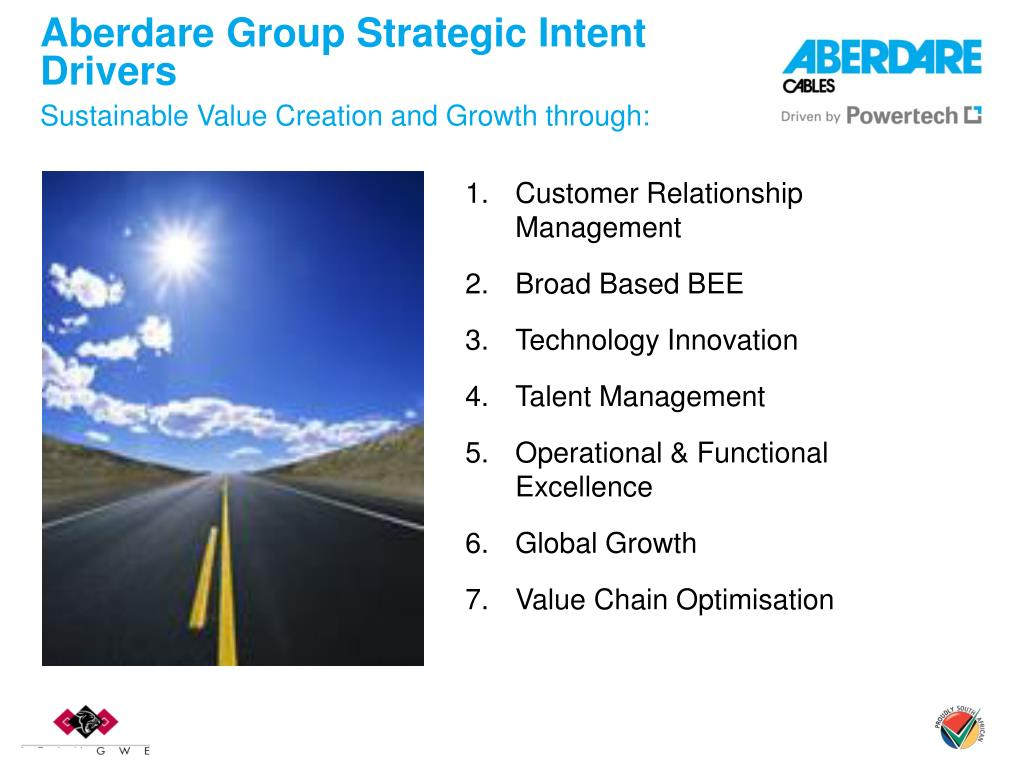 Aberdare Group Strategic Intent Drivers