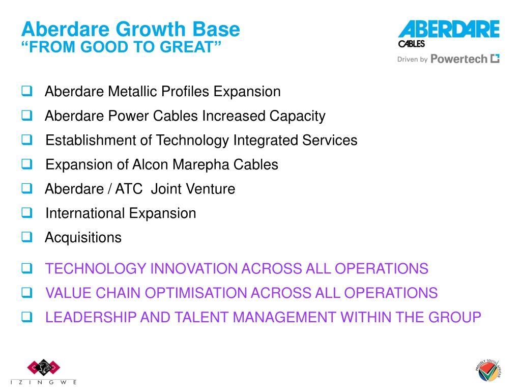 Aberdare Growth Base
