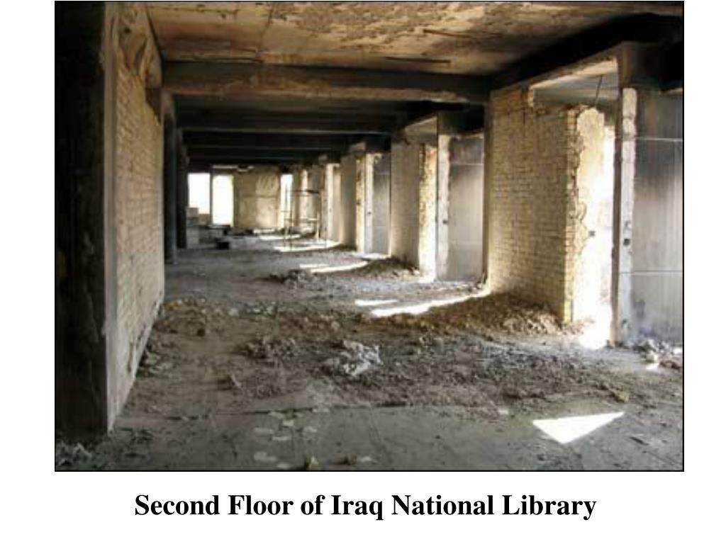 Second Floor of Iraq National Library