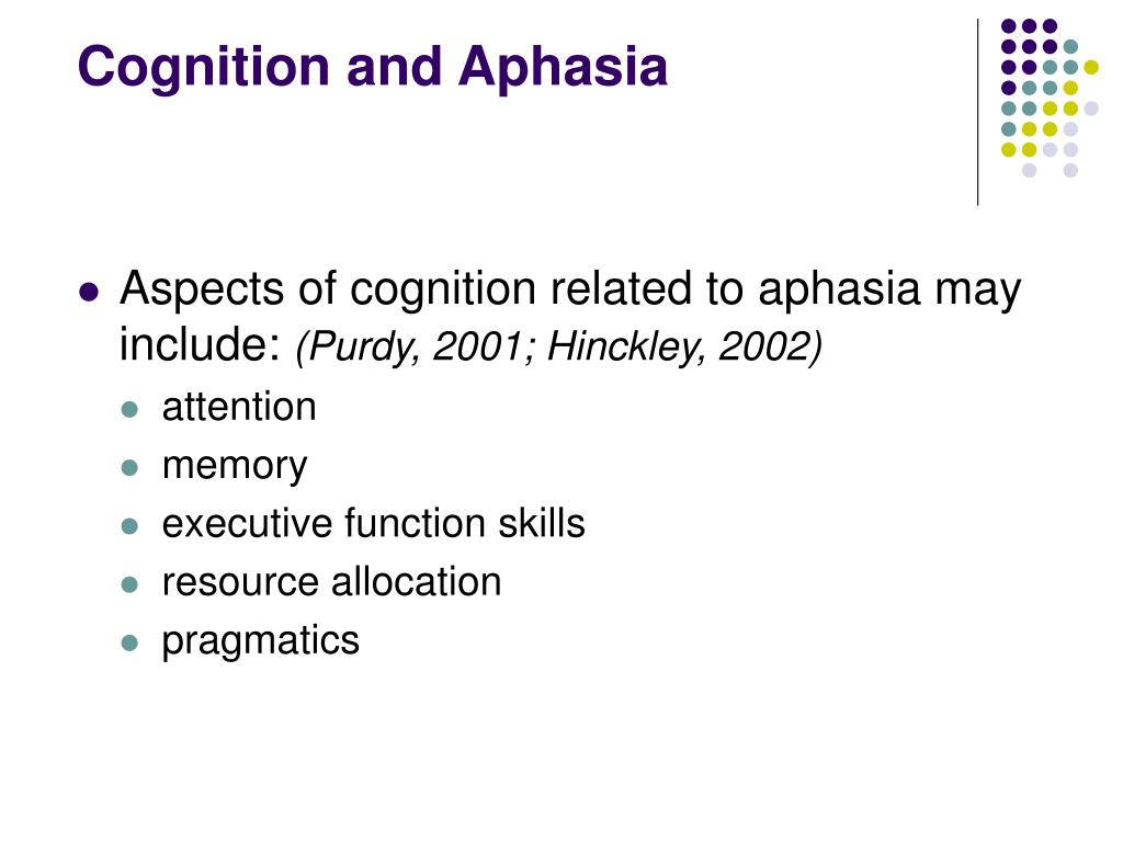 attention and cognition relationship