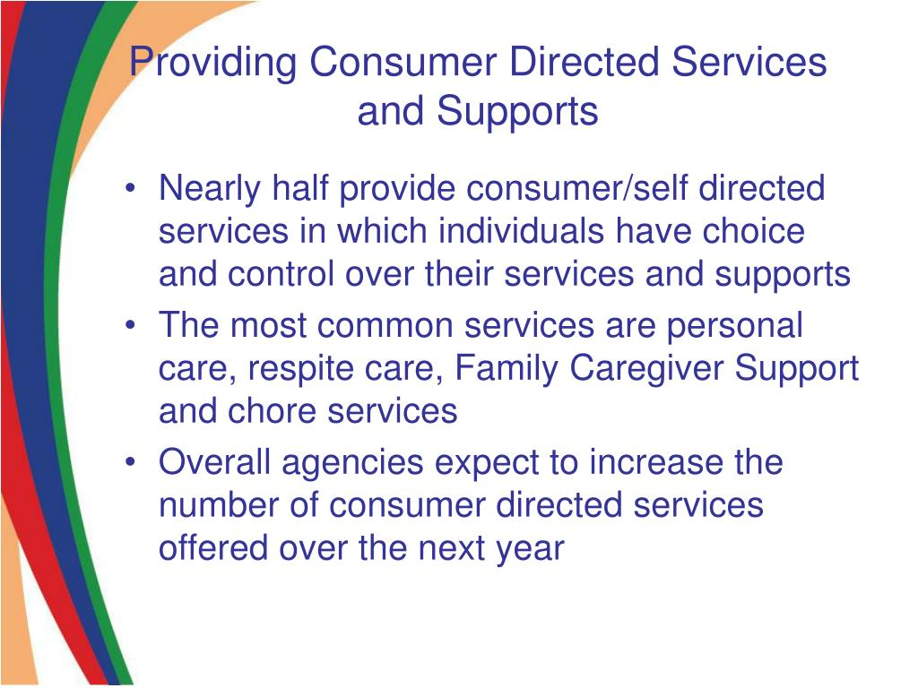 Providing Consumer Directed Services and Supports