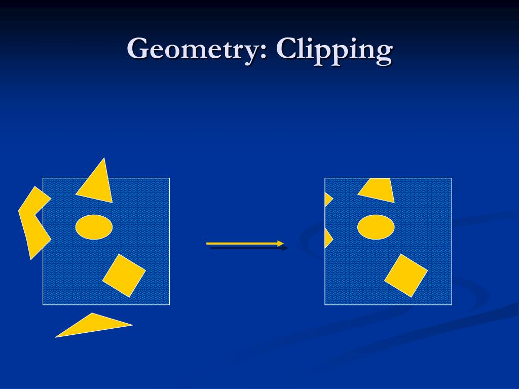 Geometry: Clipping