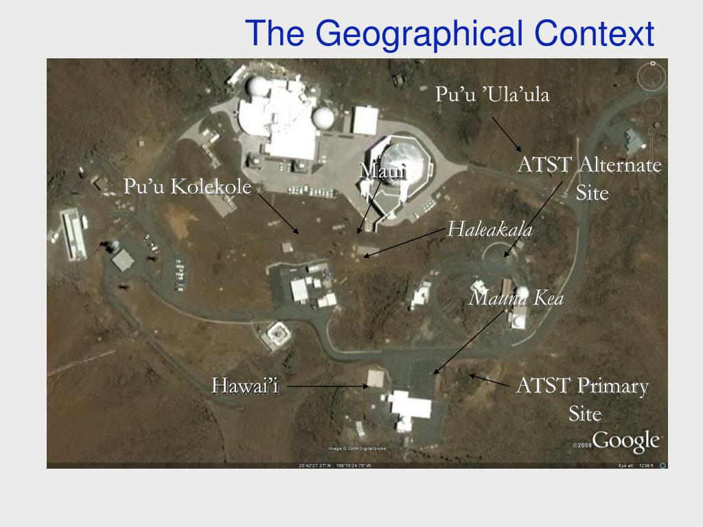 The Geographical Context