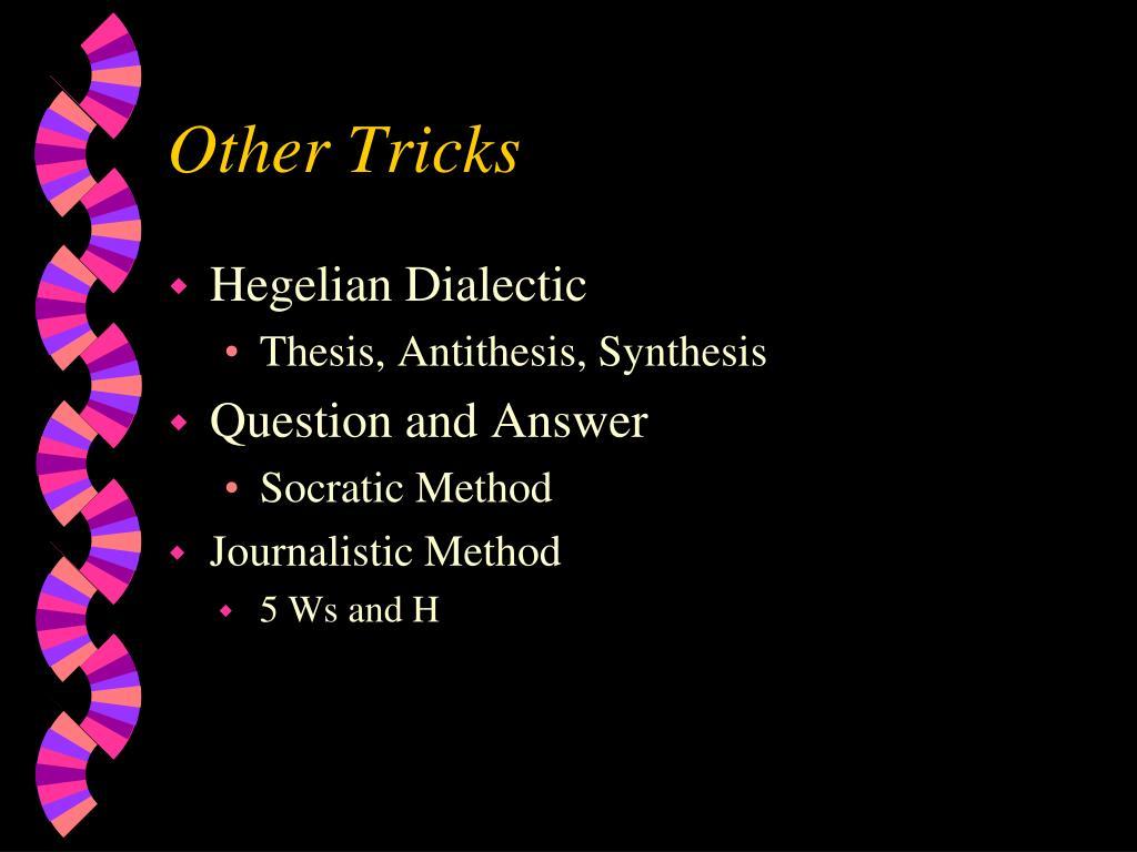Other Tricks