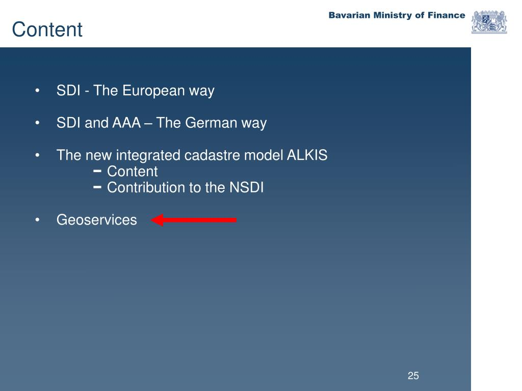 SDI - The European way