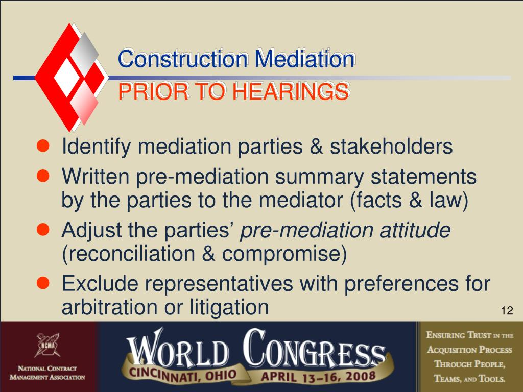 Construction Mediation