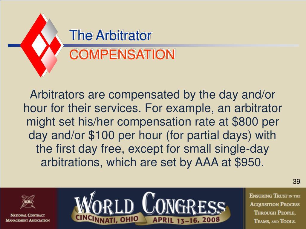The Arbitrator