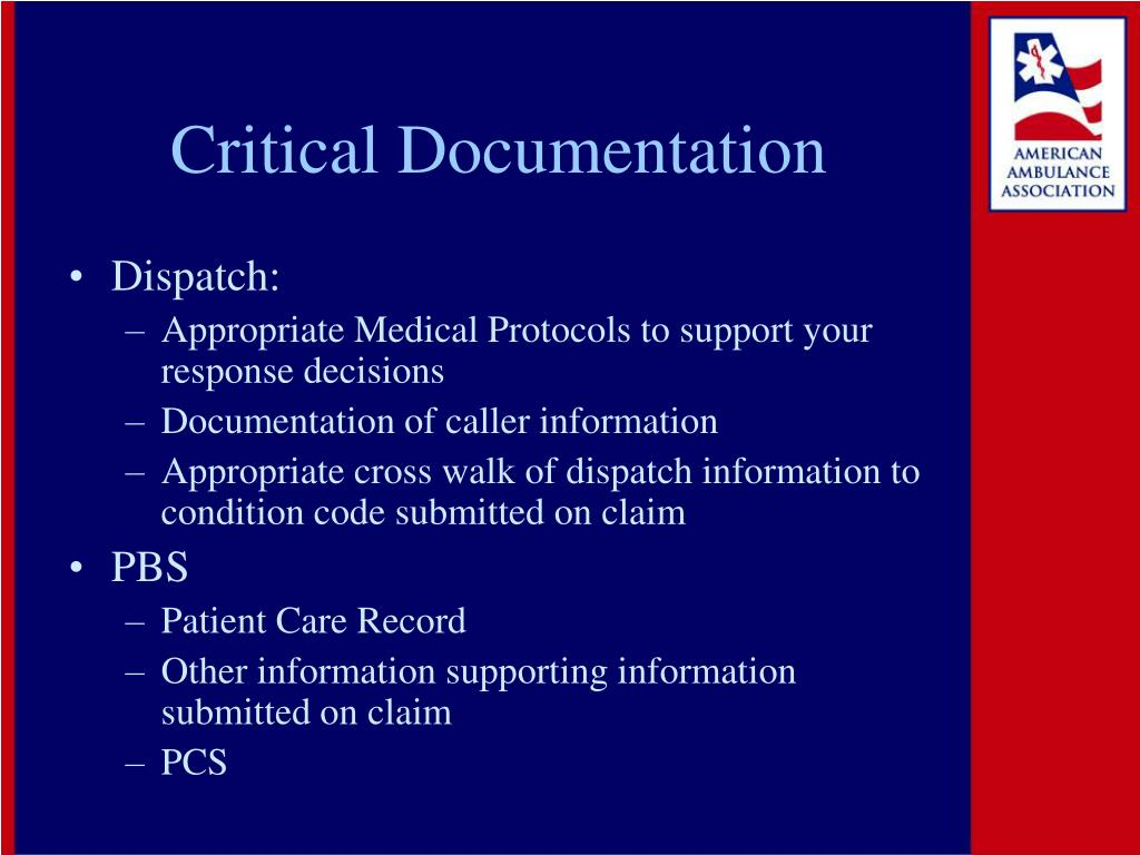 Critical Documentation