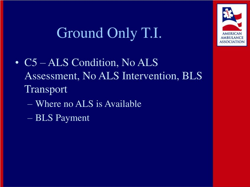 Ground Only T.I.