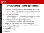 pro graphics technology trends