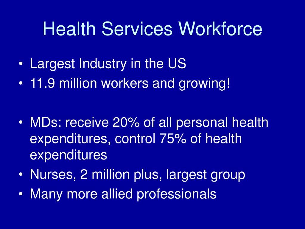 Health Services Workforce