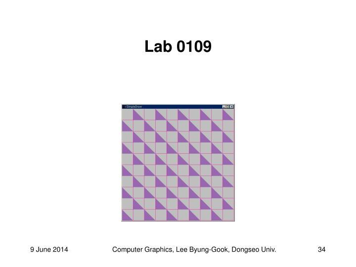 Lab 0109