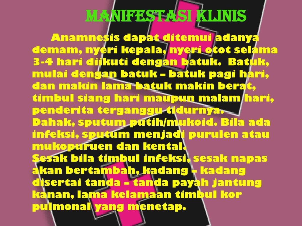 Manifestasi