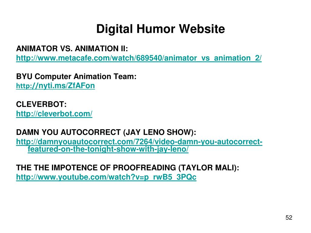Digital Humor Website
