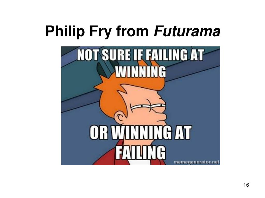 Philip Fry from
