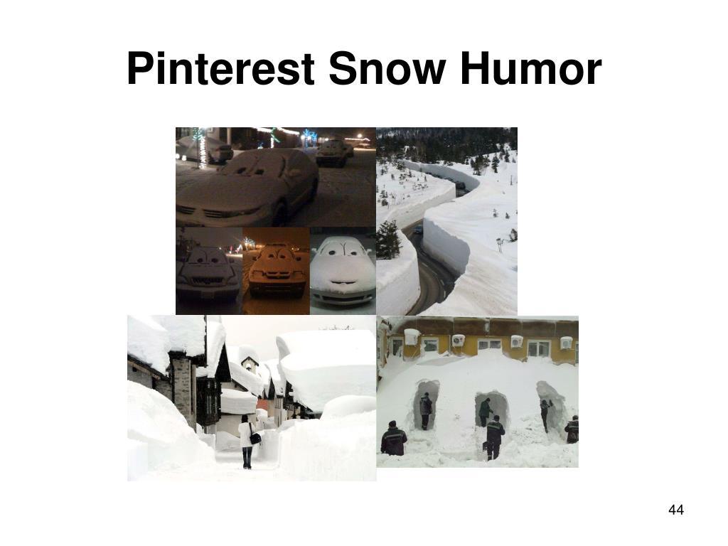 Pinterest Snow Humor