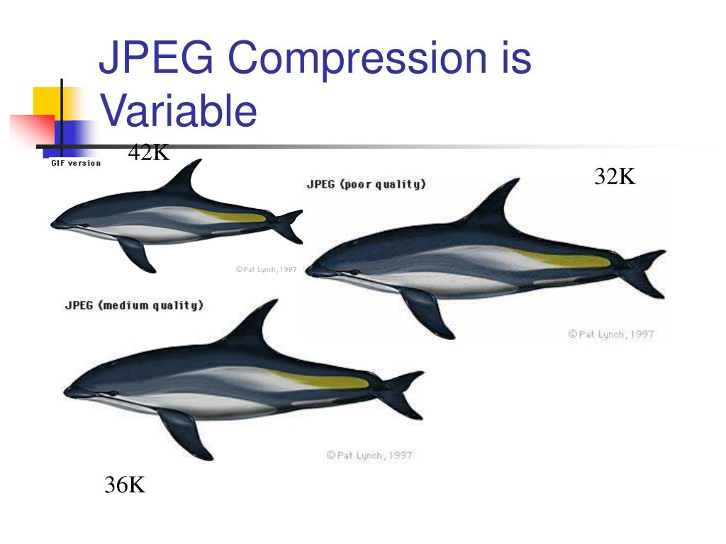 JPEG Compression is Variable