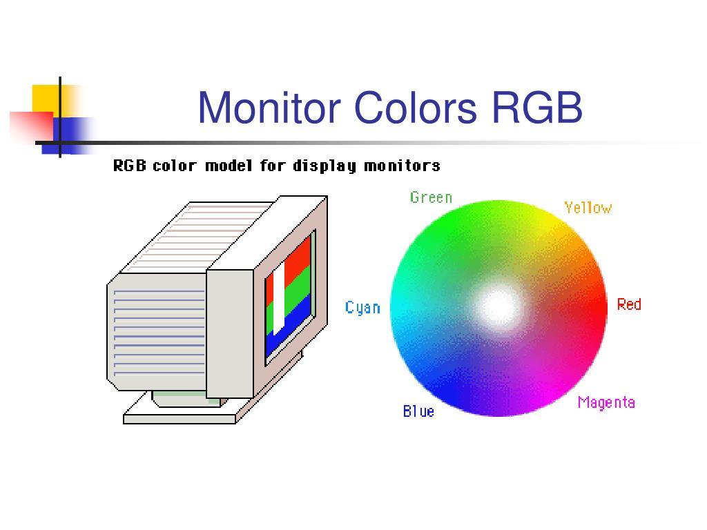 Monitor Colors RGB