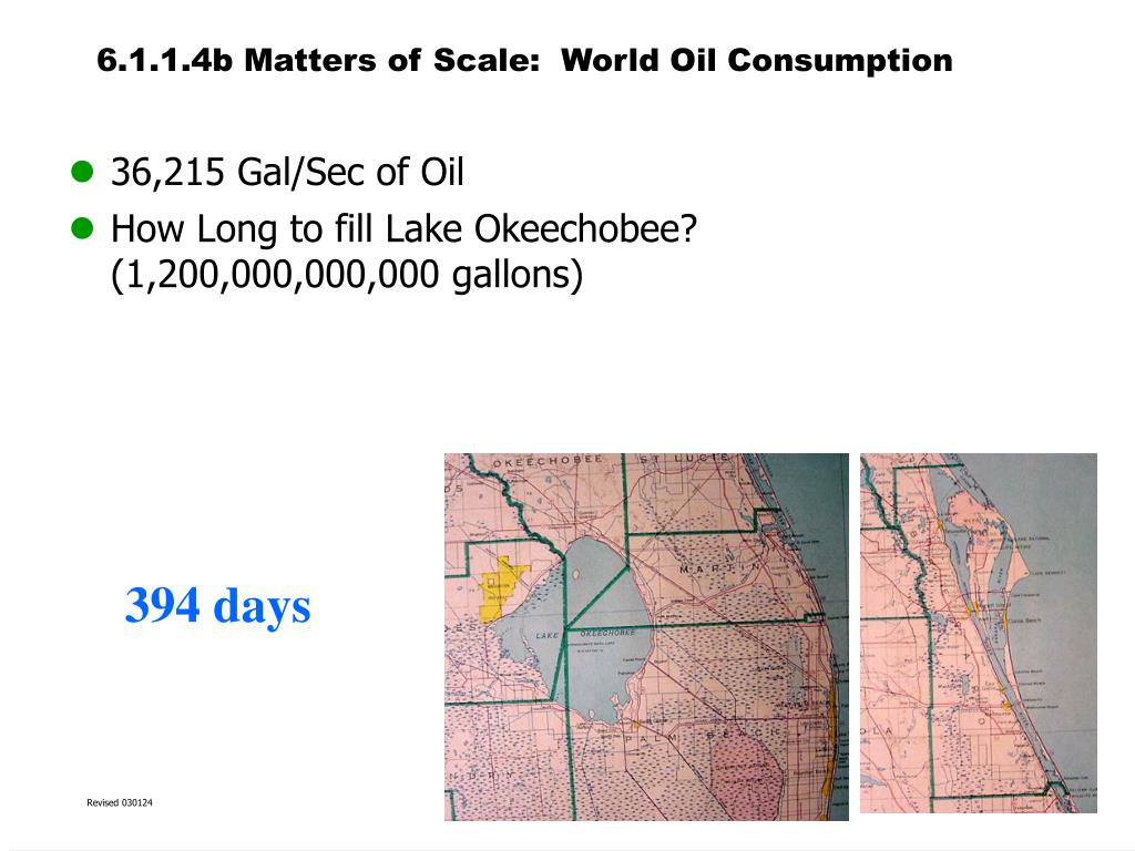 6.1.1.4b Matters of Scale:  World Oil Consumption