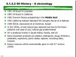 6 1 2 2 oil history a chronology
