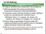 6 2 oil refining