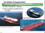 6 6 oil gas transportation