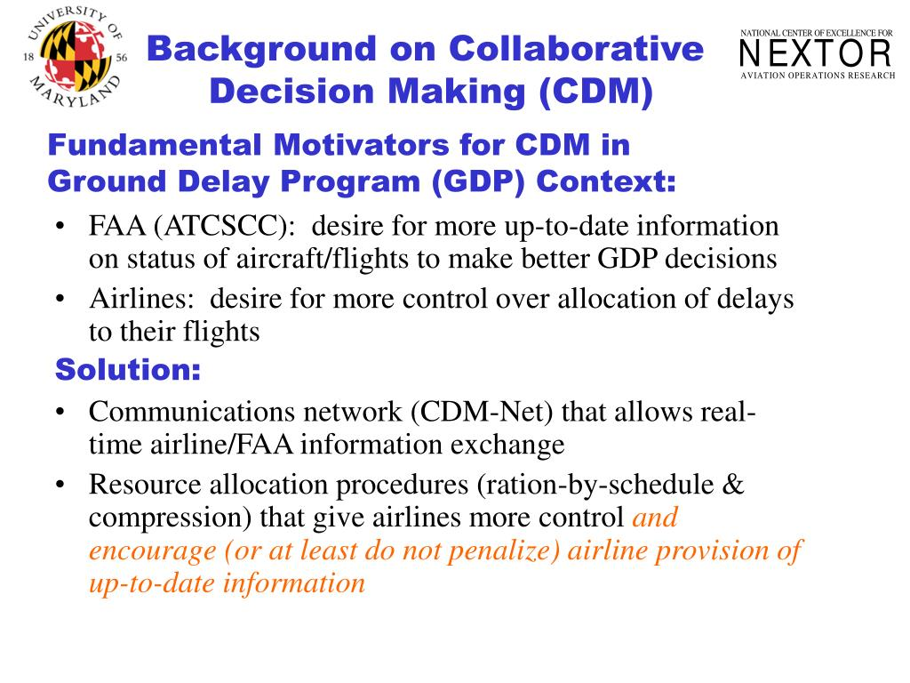 Background on Collaborative